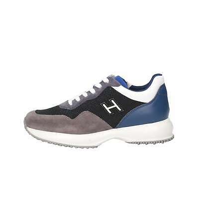 Hogan Junior Bambino HXC00N0V311IBQ0PAI Grigio/blue Sneakers Primavera/Estate