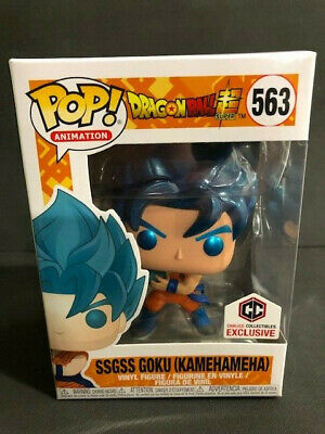Funko Pop! Dragon Ball Super SSGSS Goku (Kamehameha) Chalice Exclusive Protector