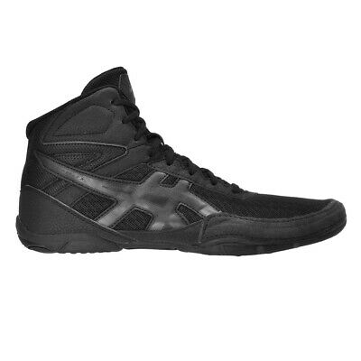 Asics Matflex 6 Mens Wrestling MMA Martial Art Shoes Size 13 BLACK/GUNMETAL NWB