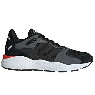 adidas CrazyChaos Mens Fashion Trainer Sneaker Shoe Black/Grey