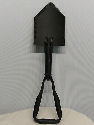 US Military Issue AMES 85 Entrenching Collapsible Trifold Folding E-tool Shovel