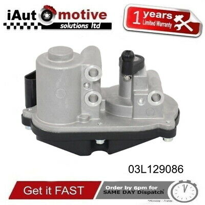 VW 1.4 1.9 2.0 2.5 3.0 4.2 TDI Air Delivery Valve Throttle Body Flap Repair Fix