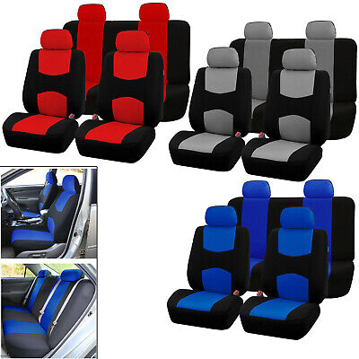 Universal  Car Seat Covers Protectors Washable Dog Pet Front Rear Full Set