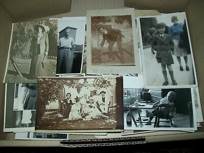 HUGE LOT VINTAGE REAL PHOTOS incl. cabinet cards 1800s to 1950/60s around 4.5kg