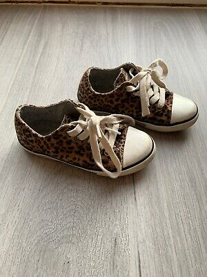 Girls Next Shoes Trainers Size Infant 9 Animal Print