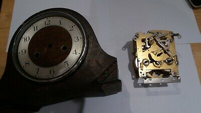 vintage Smith Enfield mantel clock, for parts or repair.