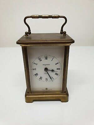 Brass Carriage clock Duverdrey & Bloquel French
