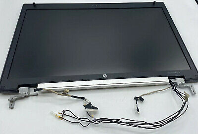"HP EliteBook 2570p 12.6/"" Matte LED LCD Complete Screen Assembly Webcam TESTED"