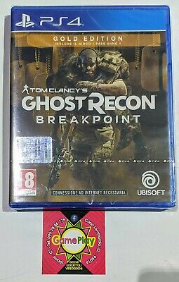Ghost Recon Breakpoint PS4 NUOVO GOLD SPECIAL EDITION