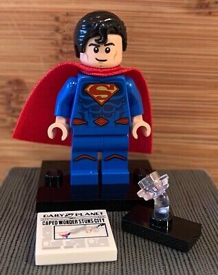 Lego Dc Cmf Superman Minifigure Complete From Private Afol Collection