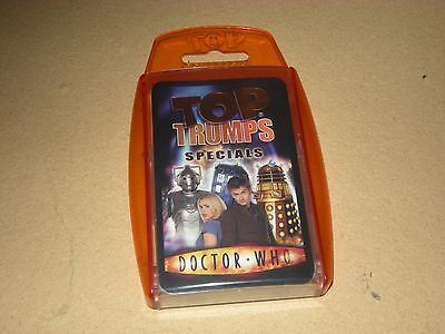 Top Trumps Specials DOCTOR WHO card game