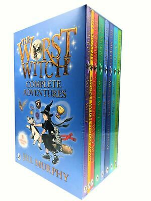 Worst Witch 8 Books Box Set Paperback Childern Collection-Wishing Star-BAD SPELL