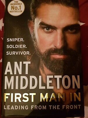 Ant middleton book first man in