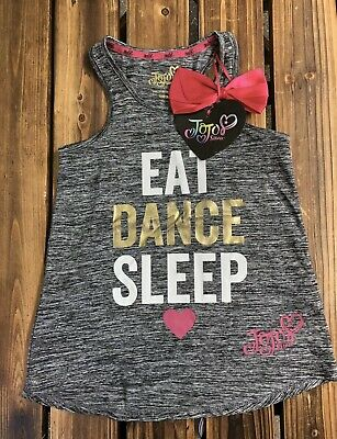 Jojo Siwa East Sleep Dance Vest Top UK Size Age 9-10 Years