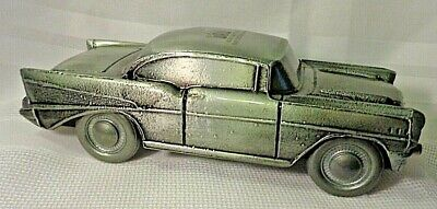 BANTHRICO INC   Vintage  1957  Chevy Bel Air   Metal Car   Bank