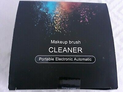 Automatic Makeup Brush Cleaner, Super-Fast Electronic Spinner Cleaner & Dryer
