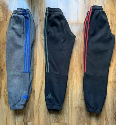 Boy's Clothes Adidas Bundle Joggers Tracksuit Sports Age 11-12 Years Joblot