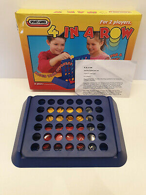 4 In A Row Board Game Vintage By Spear's Games Orginal Retro Family Kids