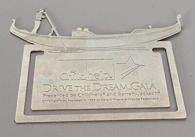 Childhelp - Drive The Dream Gala - Silver Bookmark Souvenir