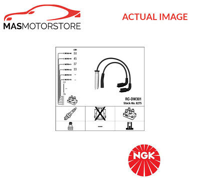 Ignition Cable Set Leads Kit Ngk 8275 G New Oe Replacement