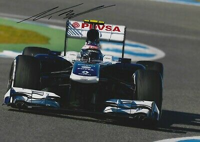 VALTTERI BOTTAS SIGNED 11x8 PHOTO - UACC RD  GRAND PRIX FORMULA 1 AUTOGRAPH