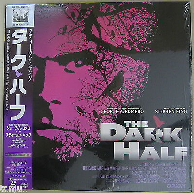 The Dark Half  Stephen King  w/OBI  SRLP 5056~7  Japan  Laserdisc  U.S seller