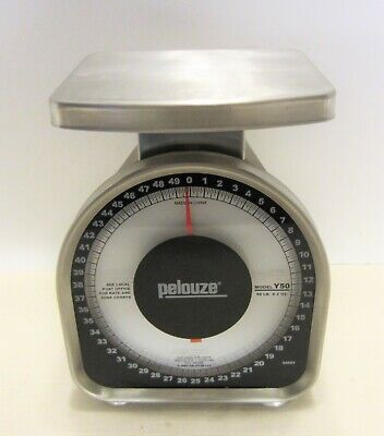 Pelouse Y50 50 lb. Tabletop Mechanical Postage or Food Scale 2003