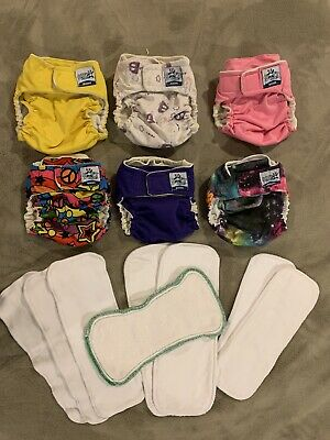 Softbums Omni Pocket Cloth Diaper Lot