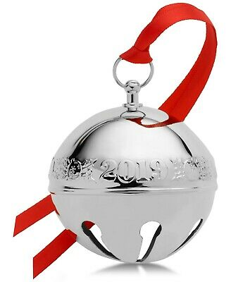 Wallace Mikasa 2019 Sleigh Bell Ornament, 49th Edition in beautiful keepsake box