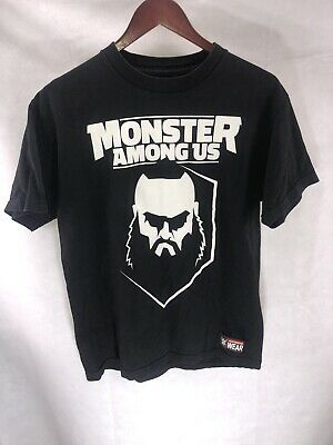 WWE BRAUN STROWMAN I/'m Not Finished With You OFFICIAL AUTHENTIC T-SHIRT