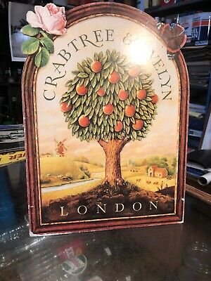 Crabtree & Evelyn London Genuine Counter Cardboard Sign