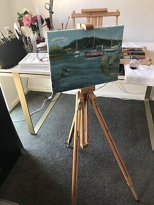 Painting Mabef Easel