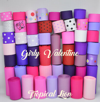 99 yards Girly Girl Easter Grosgrain Ribbon Wholesale lot Crafts Bows Baby USA