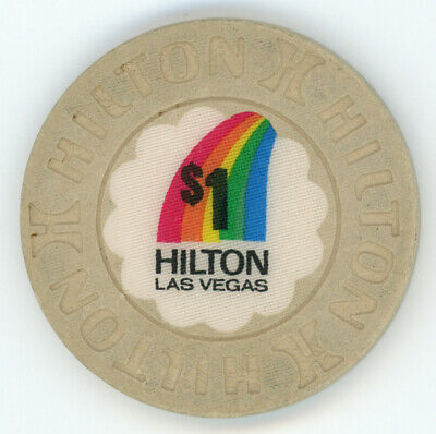 $1 Las Vegas Hilton Casino Chip CLOSED CASINO Obsolete (LAS VEGAS)
