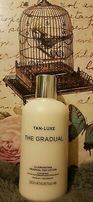 Tan-Luxe The Gradual illuminating tanning lotion 250ml Fast free delivery.