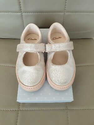 Clarks Girls Shoes 8g