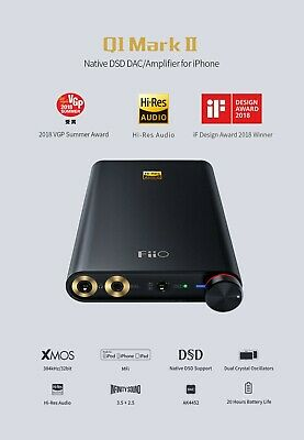 FiiO Q1 Mark II DAC and Headphone Amplifier