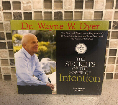 The Secrets of the Power of Intention by Wayne Dyer Unabridged Audiobook CD NEW