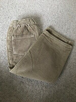 Mini Boden boys Blue Corduroy Trousers 4-5 Years