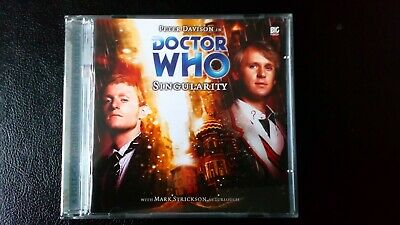 Doctor Who Audio cd Big Finish 5th Doctor SINGULARITY no.77 Monthly
