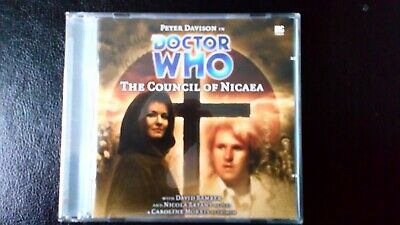 Doctor Who Audio cd Big Finish 5th Doctor THE COUNCIL OF NICEA no.72 Monthly
