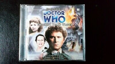 Doctor Who Audio cd Big Finish 6th Doctor THICKER THAN WATER no.73 Monthly