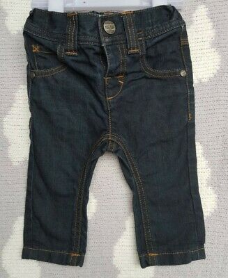 Baby Boys Next Denim Jeans Age 3-6 Months Very Good Condition