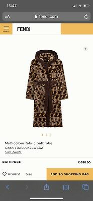 Fendi Robe Dressing Gown