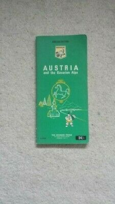 Michelin Green Guide to Austria and the Bavarian Alps 1969