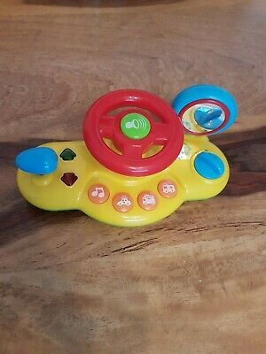 💕  Toy Steering Wheel For Pram Light And Sounds 💕