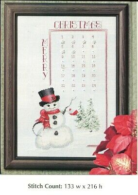 CROSS STITCH PATTERN ONLY    HM-ERUP ADVENT CALENDAR