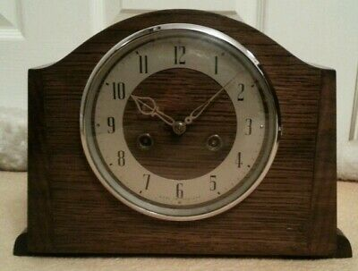 Antique smiths enfied clock serviced 2019.