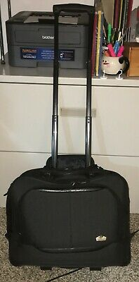 Olympia Rolling Travel Carry On Laptop Bag Briefcase Suitcase Luggage Wheeled