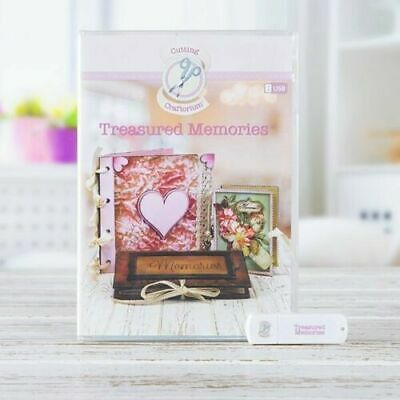 Cutting Craftorium Craft Projects USB Key - Treasured Memories - New Release
